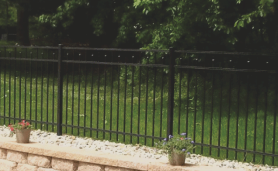 Ornamental fences are very nice fences. Nowadays they are made of aluminum or steel with the look of wrought iron. Ornamental fences are great for perimeter protection, providing great security while also looking great. They are also customizable to fit any style.